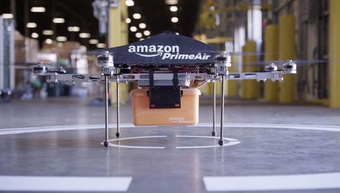 Запатентованный дрон от Амазон