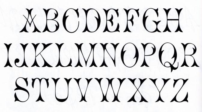 Леттеринг шрифты