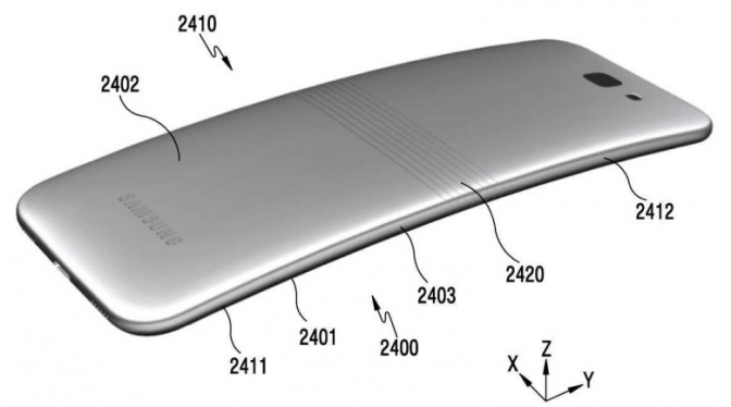 сгибаемый смартфон 2