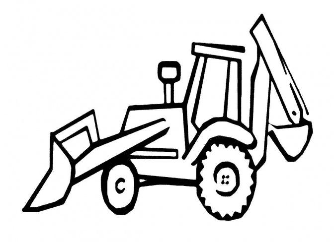Логотип трактор